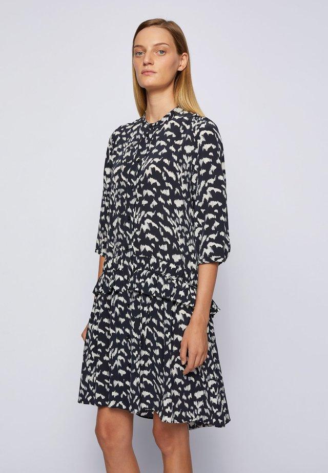 Shirt dress - patterned