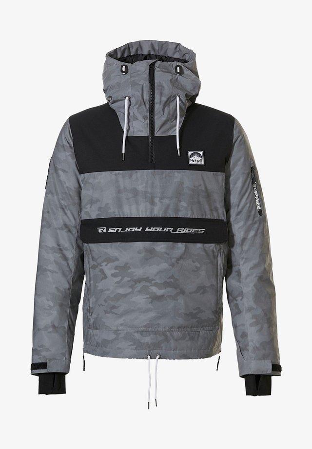 Winter jacket - camo reflective dots