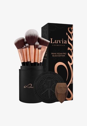 PRIME VEGAN PRO BLACK EDITION - Makeup brush set - -