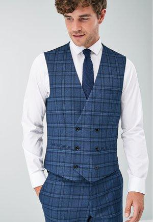 Suit waistcoat - blue