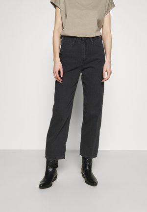 WIDE LEG - Džíny Relaxed Fit - black duns