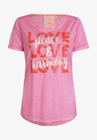 Lieblingsstück - CARISSIMAL - Print T-shirt - rose - 0