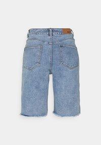 Object - OBJMARINA - Shorts di jeans - light blue denim - 1