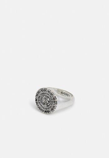 TRIBE MENTALITY PALM COIN - Ring - silver-coloured