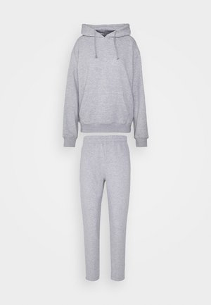 HOODIE AND JOGGER SET - Mikina s kapucí - grey
