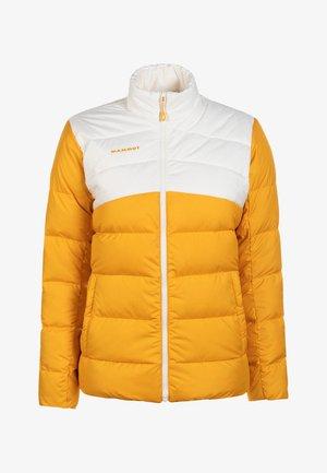 WHITEHORN - Down jacket - golden-bright white