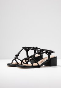 Head over Heels by Dune - JIJI - Sandals - black - 4