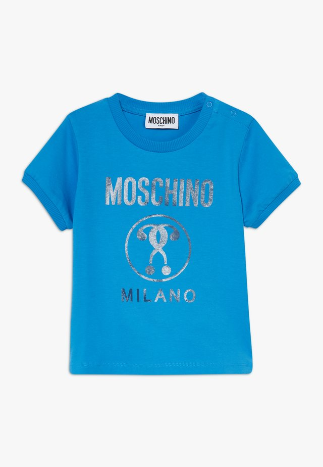 T-shirt con stampa - french blue