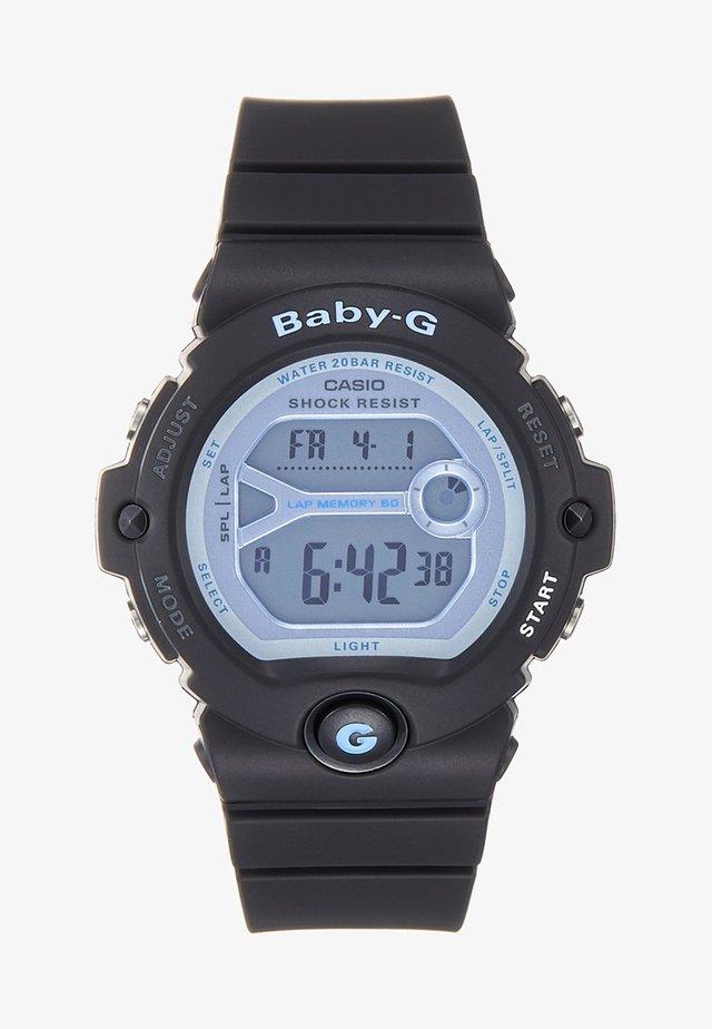 Reloj digital - schwarz