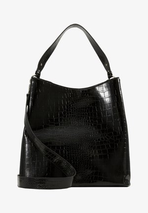 SOLID KAYNA BAG - Shopping bags - black
