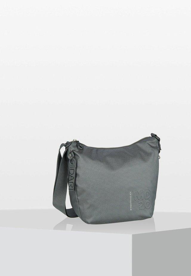 LUX BIG HOBO - Across body bag - gun metal
