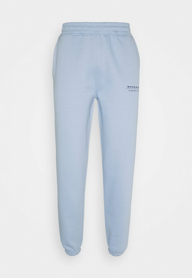 CLUB JOGGER UNISEX - Tracksuit bottoms - light blue