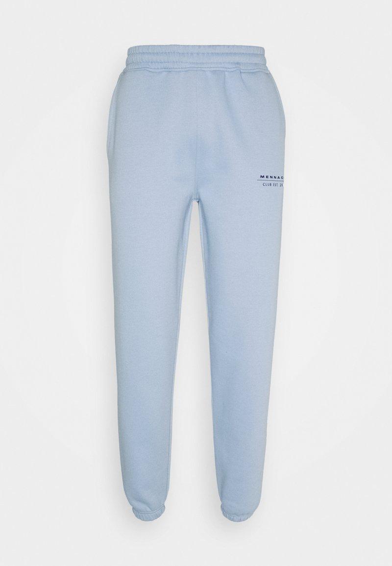 Mennace - CLUB JOGGER UNISEX - Pantalon de survêtement - light blue