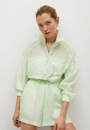 Kevyt takki - pastel green