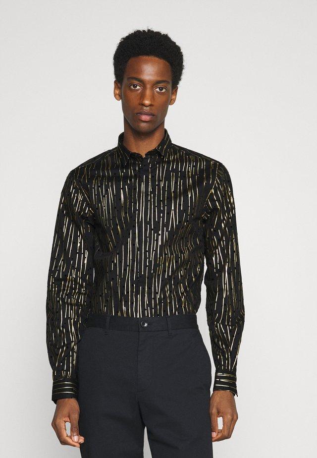 SAGRADA SHIRT - Camisa - black/gold