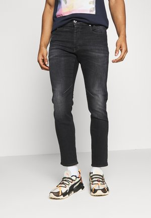D-STAQ 5-PKT SLIM - Slim fit jeans - elto black/medium aged faded