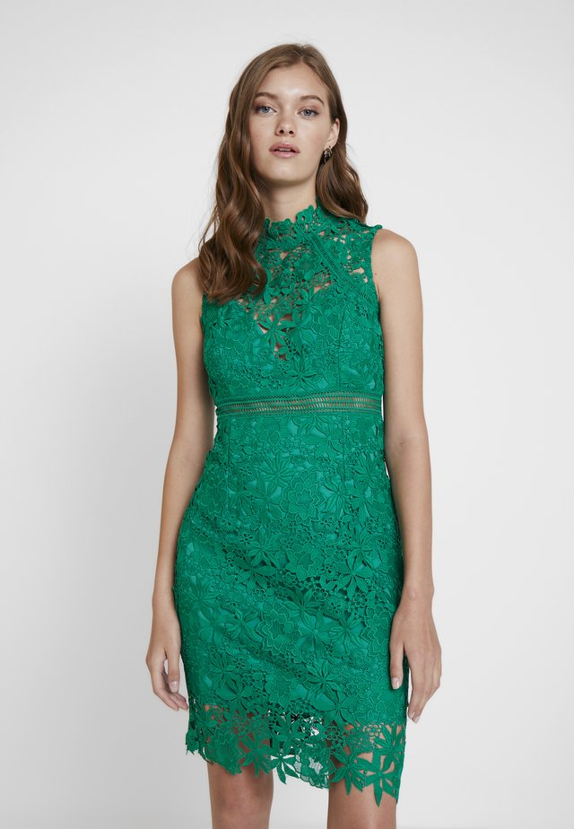 ELENI DRESS - Juhlamekko - green lake