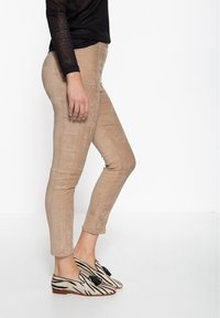 Amor, Trust & Truth - SLIM FIT - Trousers - beige - 1