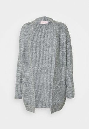 Cardigan - middle grey melange