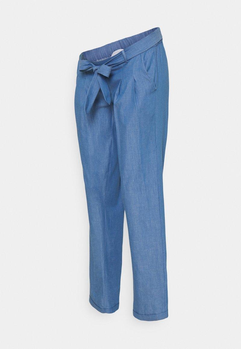 MAMALICIOUS - MLMILANA PANT - Trousers - light blue