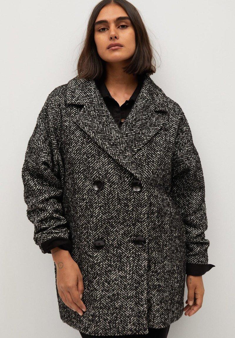 Violeta by Mango - MARIA - Short coat - schwarz