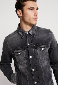 Calvin Klein Jeans - FOUNDATION SLIMJACKET - Cowboyjakker - grey - 4