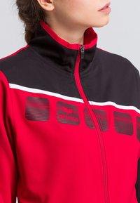 Erima - Sports jacket - red/black/white - 3