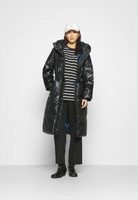 GAP - LONG PUFFER COAT - Winter coat - true black - 1