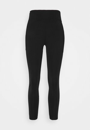 COMPRESSION TIGHTS - LAMINATED SEAMS - Collants - black
