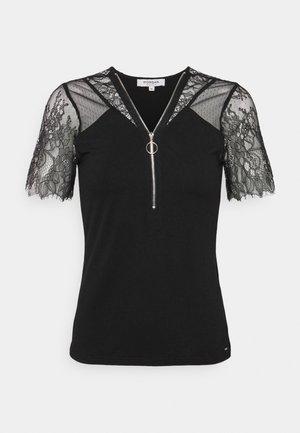 DAYANA - Print T-shirt - noir