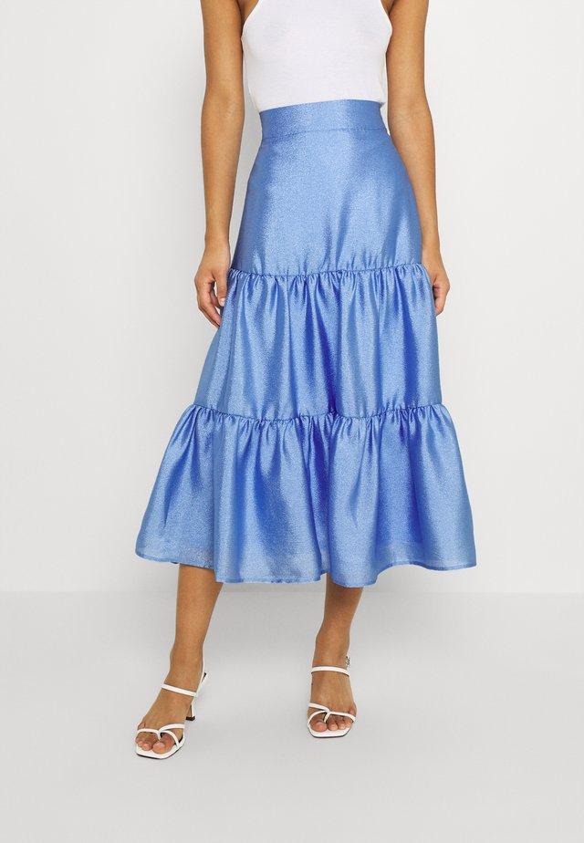 LOLITA SKIRT - Spódnica trapezowa - light blue