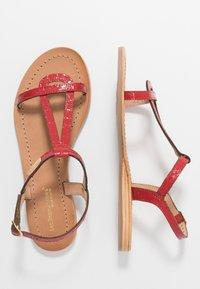 Les Tropéziennes par M Belarbi - HACROC - Sandales - rouge - 3