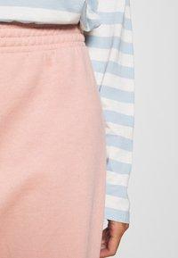 Topshop - SHIRRED WAIST - Tracksuit bottoms - pink - 4