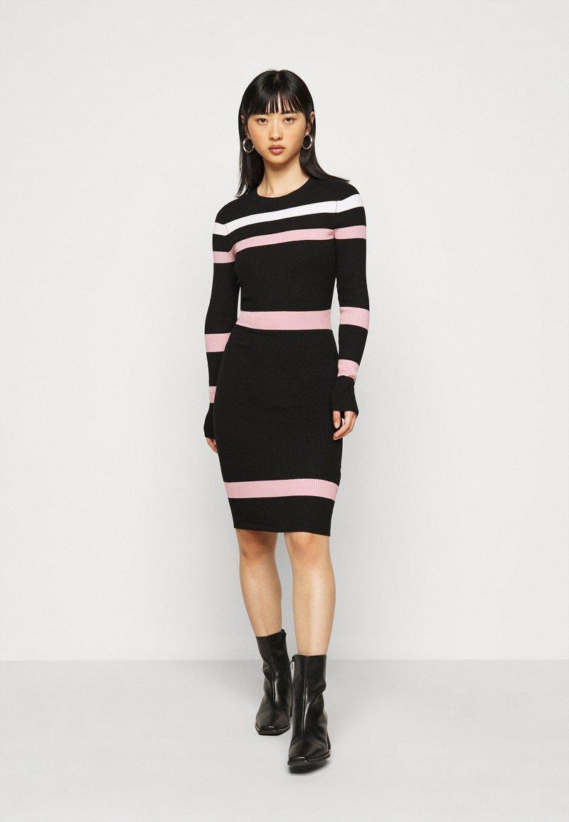 Anna Field Petite - Jumper dress - black