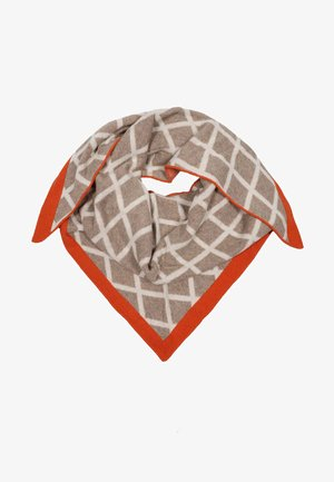 MIT - Scarf - beige orange