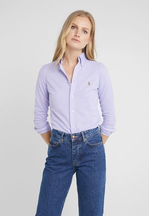 HEIDI LONG SLEEVE - Button-down blouse - hyacinth