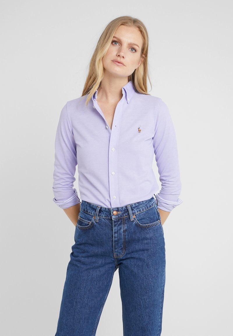 Polo Ralph Lauren - HEIDI LONG SLEEVE - Button-down blouse - hyacinth
