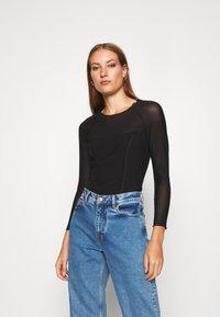 Calvin Klein Jeans - Bluzka z długim rękawem - black - 0