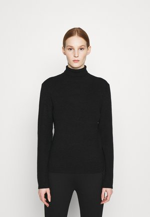 OBJVENLO ROLLNECK  - Jumper - black