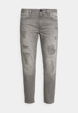 BOYFRIEND - Straight leg jeans - black