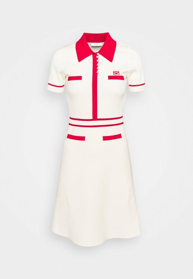 ROBE MINIMAL - Day dress - ecru