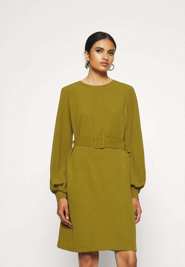 VMCORAL DRESS - Jersey dress - green