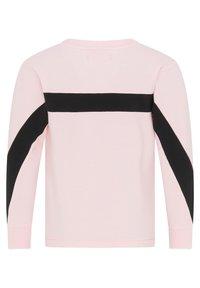 myMo KIDS - Sweatshirt - hellrosa schwarz - 1