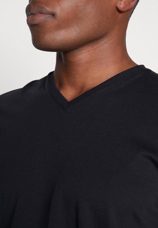 Esprit T-shirt basic - black/czarny Odzież Męska CKAL