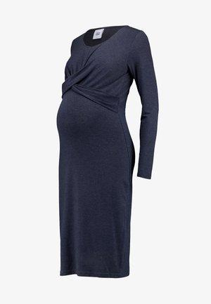 MLSELENA DRESS  - Jersey dress - navy blazer/melange