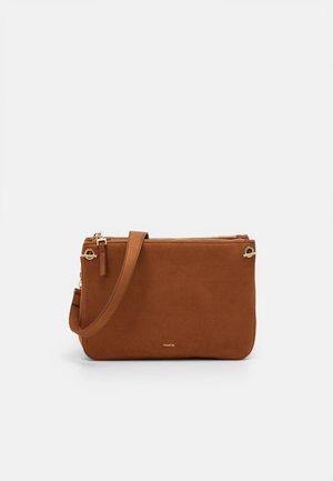 CROSSBODY BAG HORTENSIA - Across body bag - camel