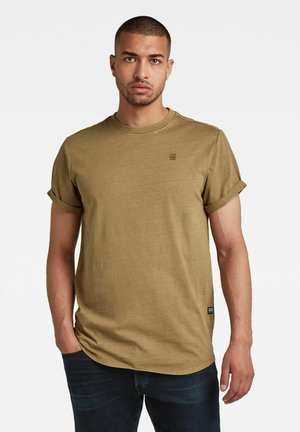 LASH R - T-shirt basic - light antic green gd