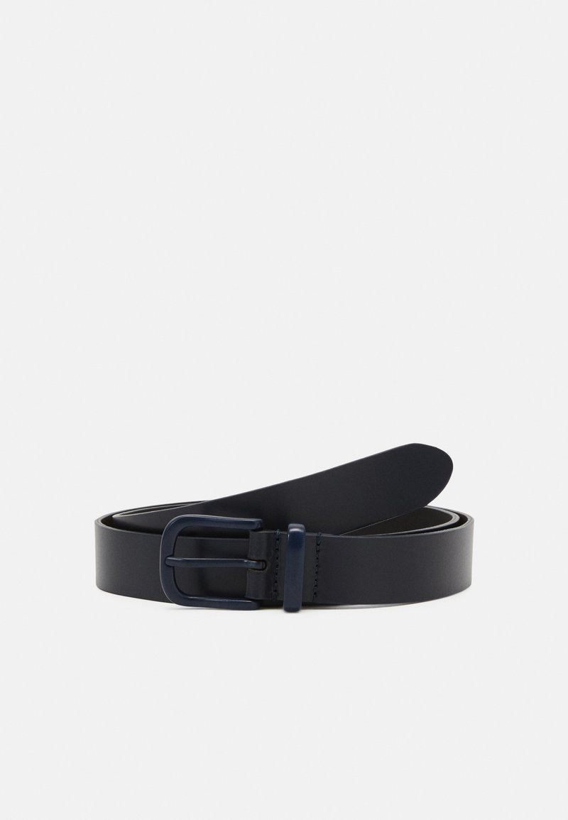 Zign - UNISEX LEATHER - Belte - dark blue