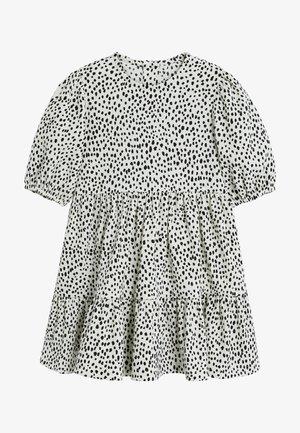 DALMATION PRINT - Korte jurk - white