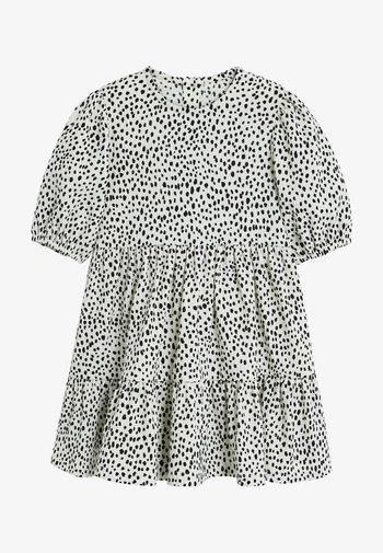 DALMATION PRINT - Day dress - white